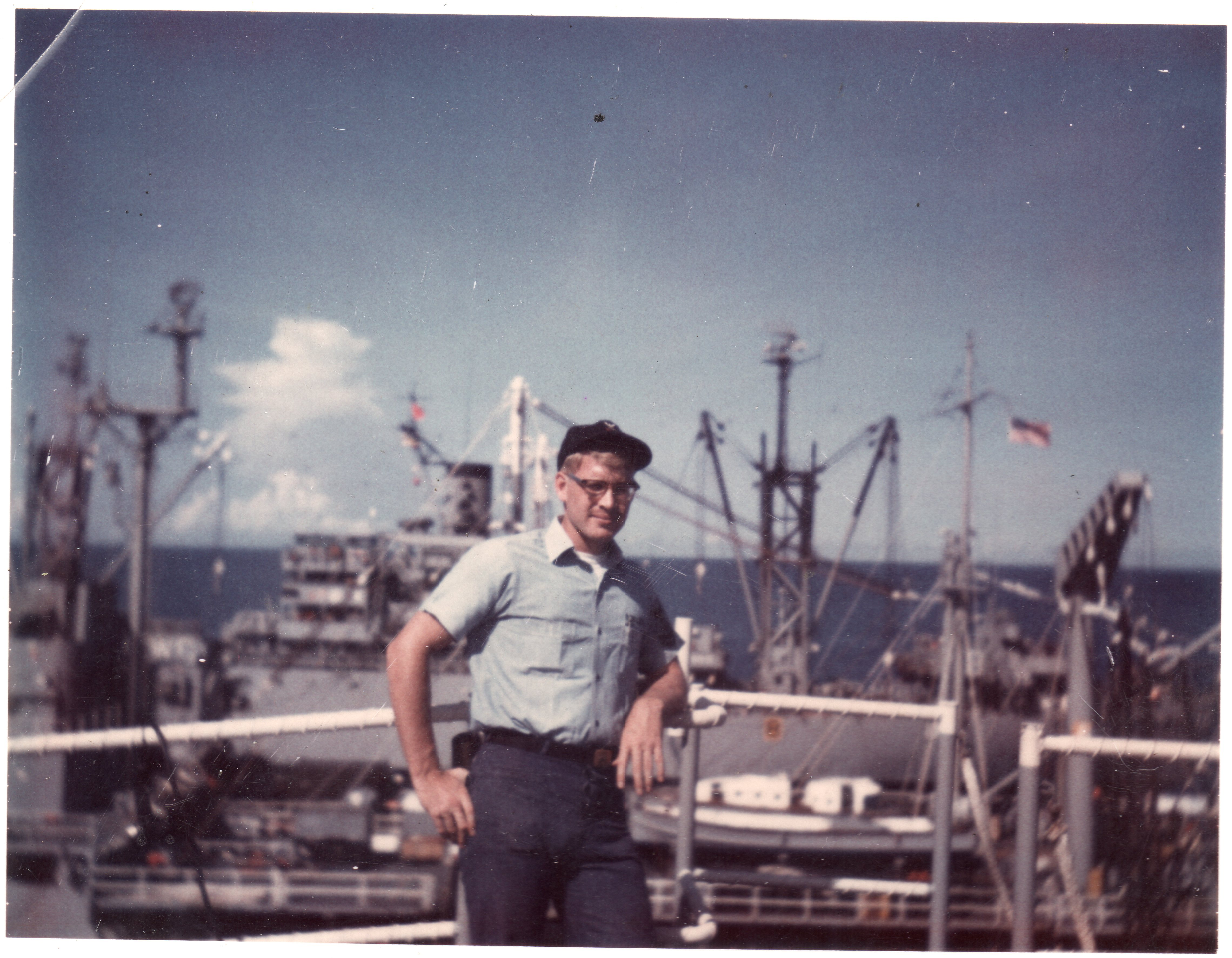 Chris Navy July 1969