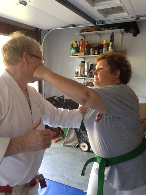 Jennifer's Self Defense Works! 8.15.15