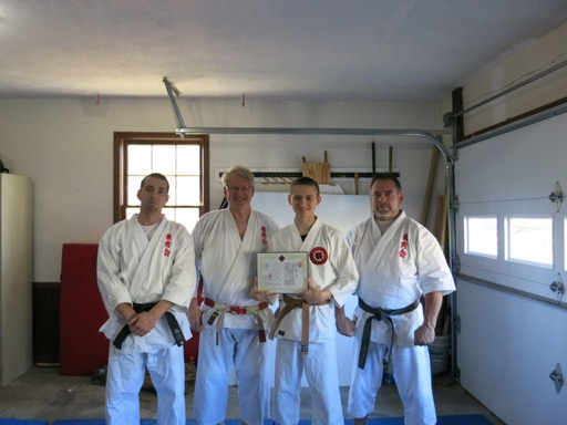Word C Brown Belt Diploma