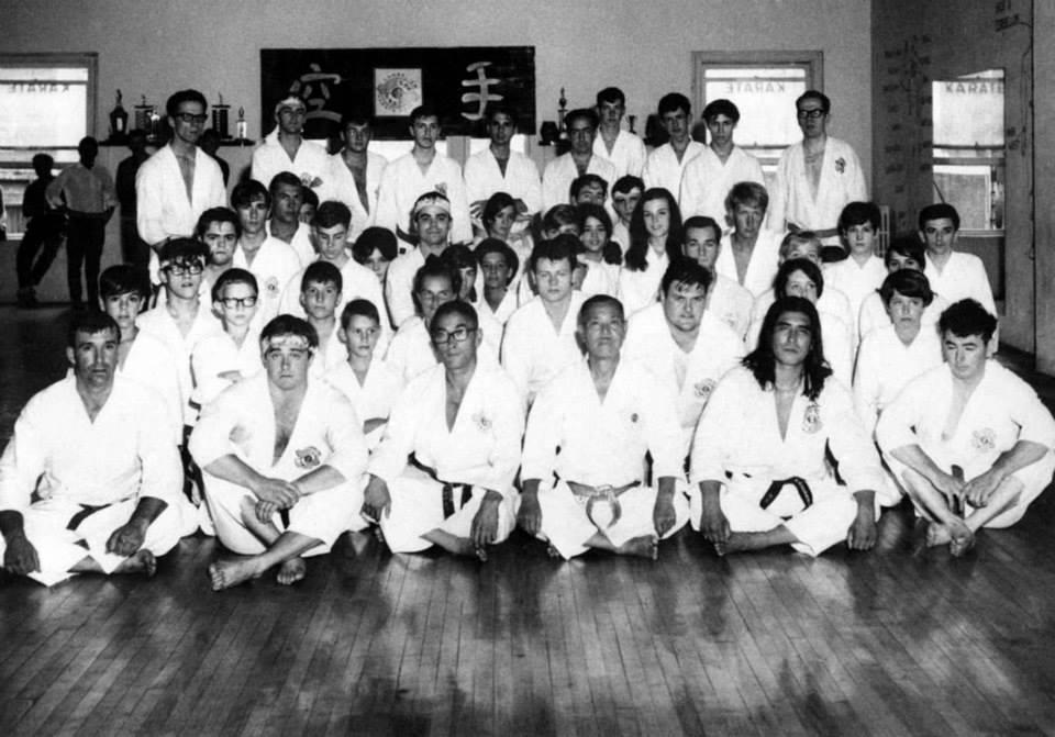 Chitose-Yamamoto-Foster-Karate-Class-Canada-1960