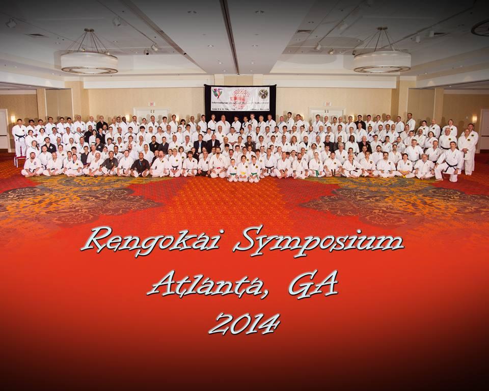 Rengokai Symposium - Nelson Kyoshi (Sitting far right) 2014